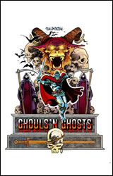 Ghouls N Ghosts Artwork