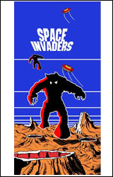 Space Invaders Artwork