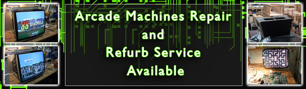 Arcade Machine Repair Service
