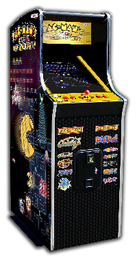 NAMCO PacMans Arcade Party Upright Arcade Machine Home Version