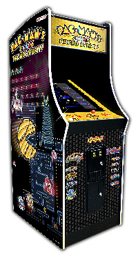NAMCO PacMans Arcade Party Upright Arcade Machine Coin Op Version