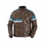 Joystick Junkies Padded Brown Jacket