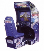 California Speed Arcade Machine Driving Game