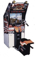 HarleyDavidson and LA Riders Arcade Machine Driving Game
