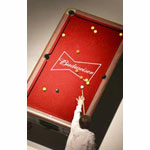 Budweiser Pool Table Cover