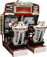 Sega Rally 2 Driving Game