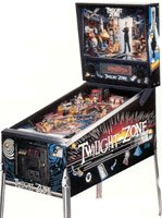 Twilight Zone Pinball Table