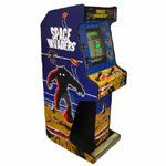 Voyager Upright Arcade Machine Space Invaders Cabinet